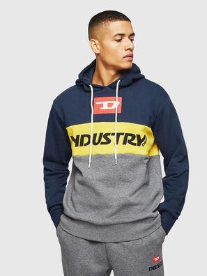 UMLT-BRANDON, Blue/Grey - Sweaters