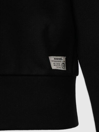 Diesel - UMLT-MAX-CZ, Black - Sweaters - Image 4