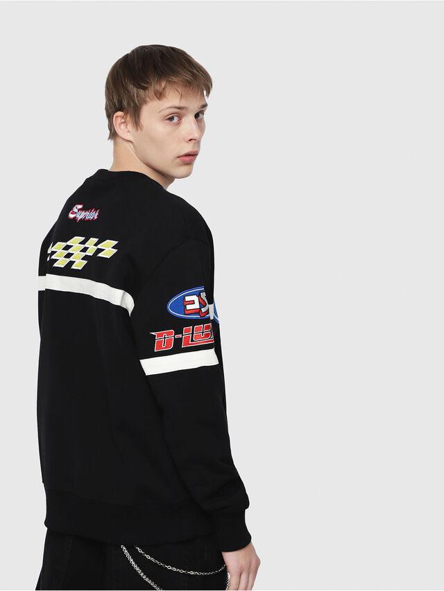 Diesel - S-BAY-YF, Multicolor/Black - Sweaters - Image 2