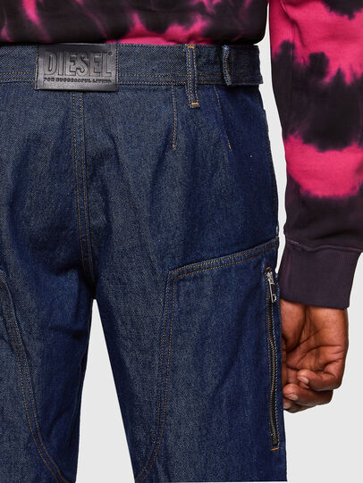 Diesel - D-KARGO, Medium blue - Pants - Image 5
