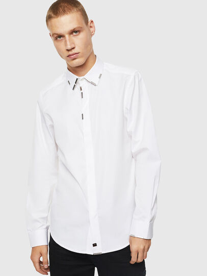 Diesel - S-MARLENE, White - Shirts - Image 1