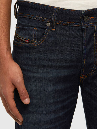 Diesel - Sleenker 009DI, Dark Blue - Jeans - Image 4