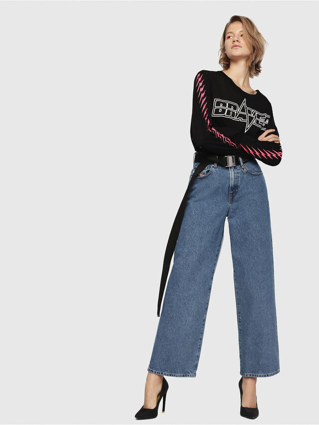 Diesel - Widee 0077V, Medium blue - Jeans - Image 3