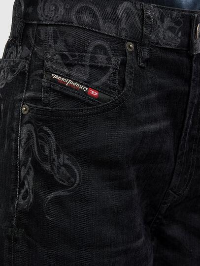 Diesel - D-Reggy 009LC, Black/Dark grey - Jeans - Image 6