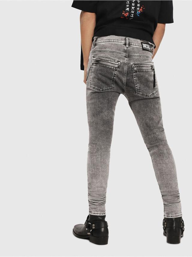 Diesel - D-Amny 069FJ, Black/Dark grey - Jeans - Image 2