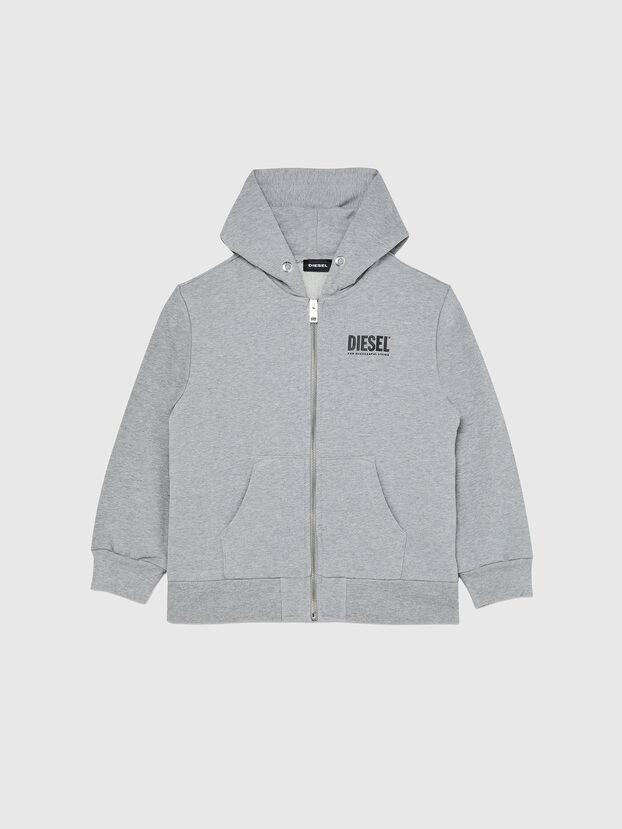 SGIRKHOODZIP-LOGO OV, Grey - Sweaters