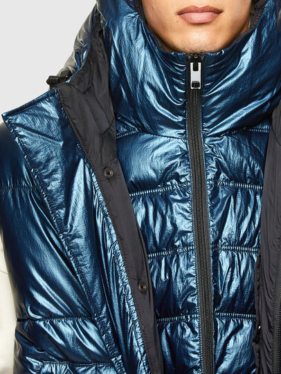 Diesel - W-SELLERS, Blue - Winter Jackets - Image 4
