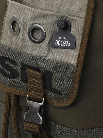 Diesel - VOLPAGO BACK ARMY, Olive Green - Backpacks - Image 4