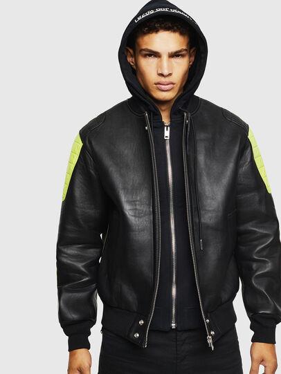 Diesel - L-BRANDO,  - Leather jackets - Image 1