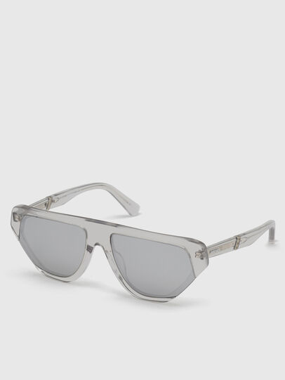 Diesel - DL0322, Grey - Sunglasses - Image 2