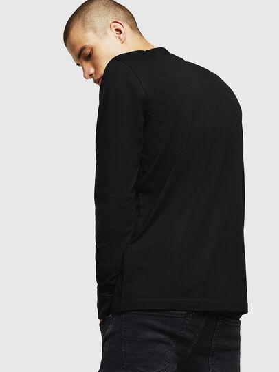 Diesel - T-DIEGO-DIV-LS, Black - T-Shirts - Image 3
