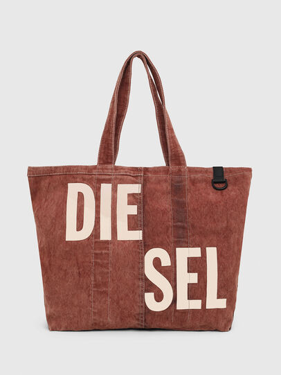 Diesel - GRANYTO SHOPPER M, Orange - Shopping and Shoulder Bags - Image 1