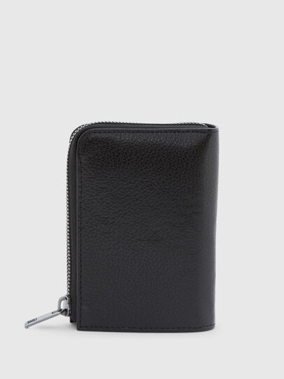 Diesel - L-12 ZIP, Black/Blue - Zip-Round Wallets - Image 2
