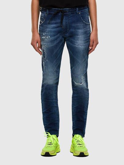 Diesel - Krailey JoggJeans 069PL, Dark Blue - Jeans - Image 1