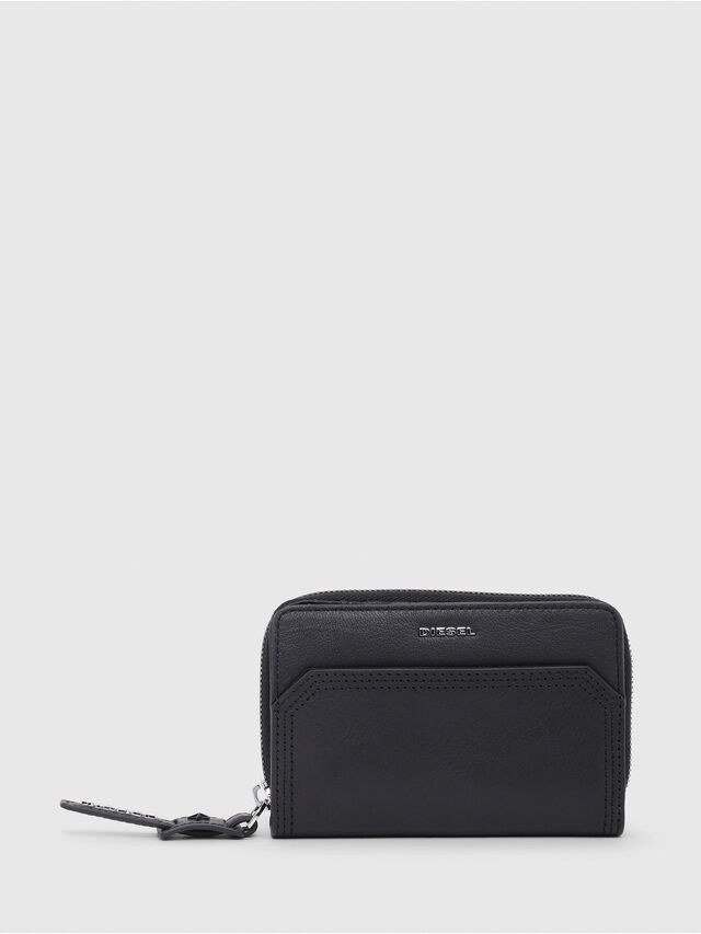 Diesel - BUSINESS II, Opaque Black - Small Wallets - Image 1