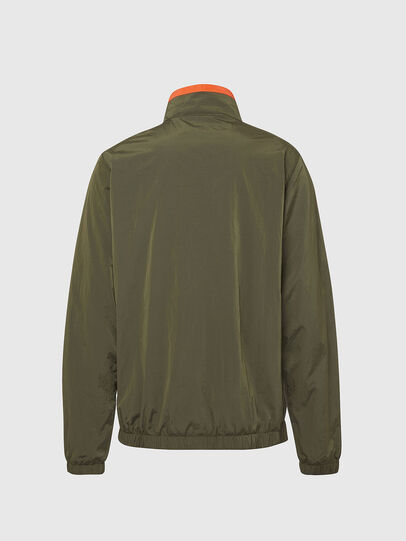 Diesel - UMLT-ROULAY-WZ, Olive Green - Jackets - Image 2