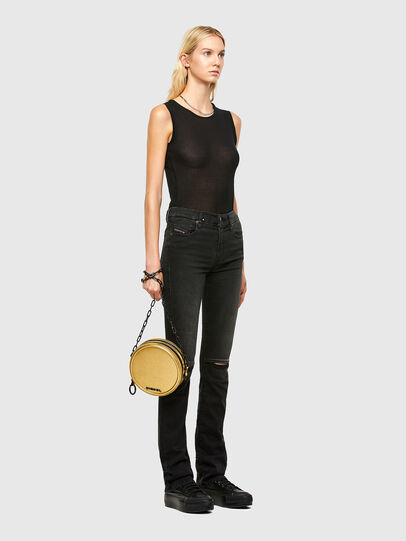 Diesel - OPHITE CHAIN, Gold - Crossbody Bags - Image 7