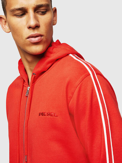 Diesel - UMLT-BRANDON-Z, Red - Sweaters - Image 3