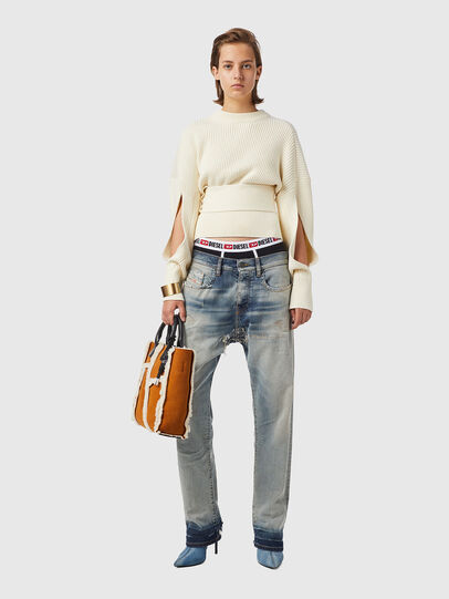 Diesel - M-SYLVANIA, White - Knitwear - Image 4