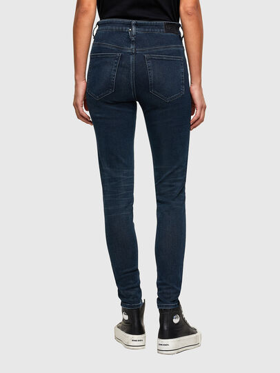 Diesel - Slandy High 009QF, Dark Blue - Jeans - Image 2