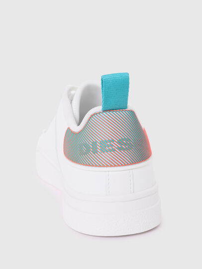Diesel - S-CLEVER LOW LACE W, White/Blue - Sneakers - Image 4