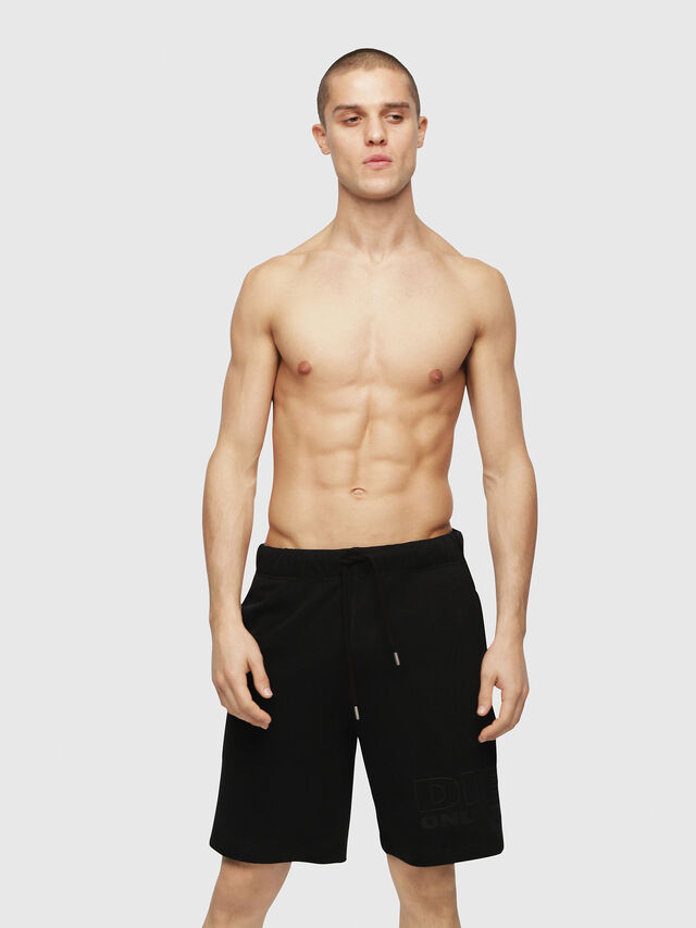 Diesel UMLB-PAN, Black - Pants - Image 1
