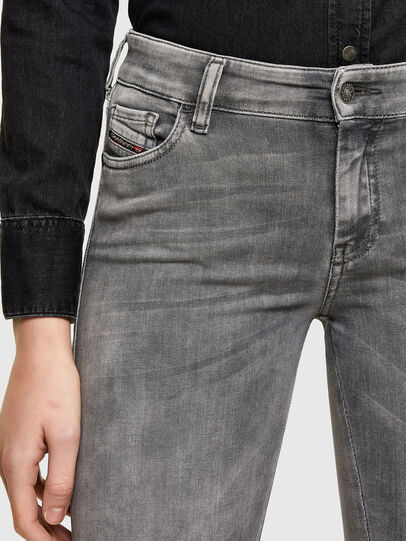 Diesel - Slandy 069RS, Black/Dark grey - Jeans - Image 3