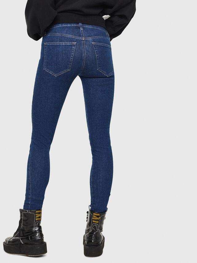 Diesel - Slandy 082AA, Dark Blue - Jeans - Image 2
