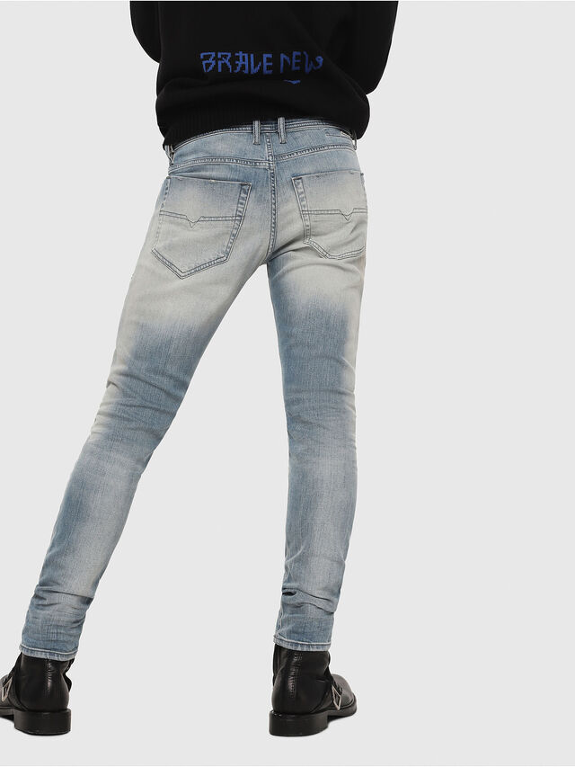 Diesel - Tepphar 081AP, Light Blue - Jeans - Image 2