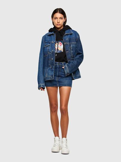 Diesel - DE-EISY, Medium blue - Skirts - Image 5