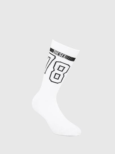 Diesel - SKM-HERMINE, White - Socks - Image 1