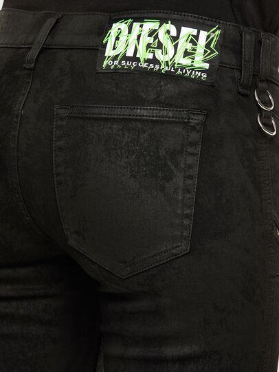 Diesel - Slandy 069NG, Black/Dark grey - Jeans - Image 5