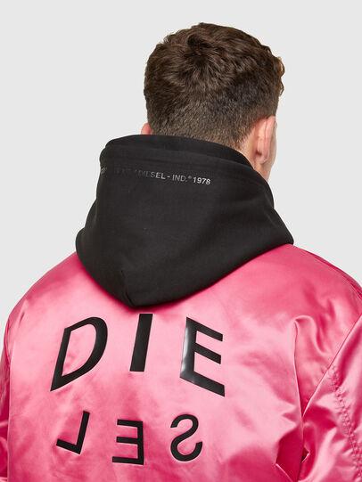 Diesel - J-FOOT, Pink - Jackets - Image 3