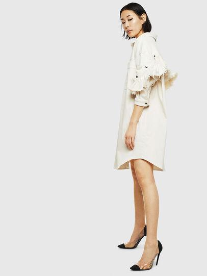 Diesel - D-BABOL JOGGJEANS, White - Dresses - Image 4