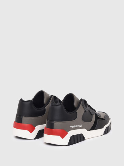 Diesel - S-RUA LOW SK, Grey - Sneakers - Image 3