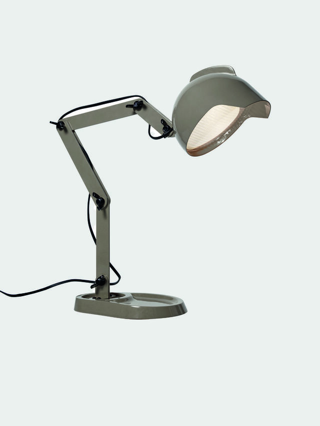 Diesel - DUII TAVOLO, Green/Grey - Table Lighting - Image 1