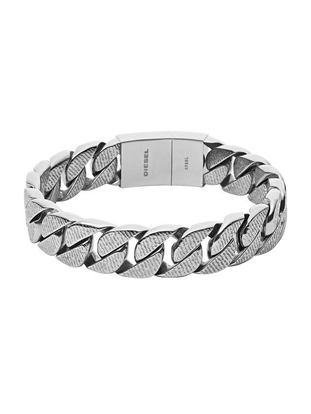 Diesel BRACELET DX0914, Silver - Bracelets - Image 1