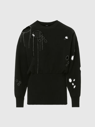 M-ARIZONA, Black - Knitwear