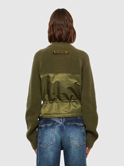 Diesel - M-EKA, Military Green - Knitwear - Image 2