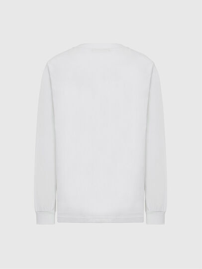 Diesel - T-JUST-LS-MOHI, White - T-Shirts - Image 2