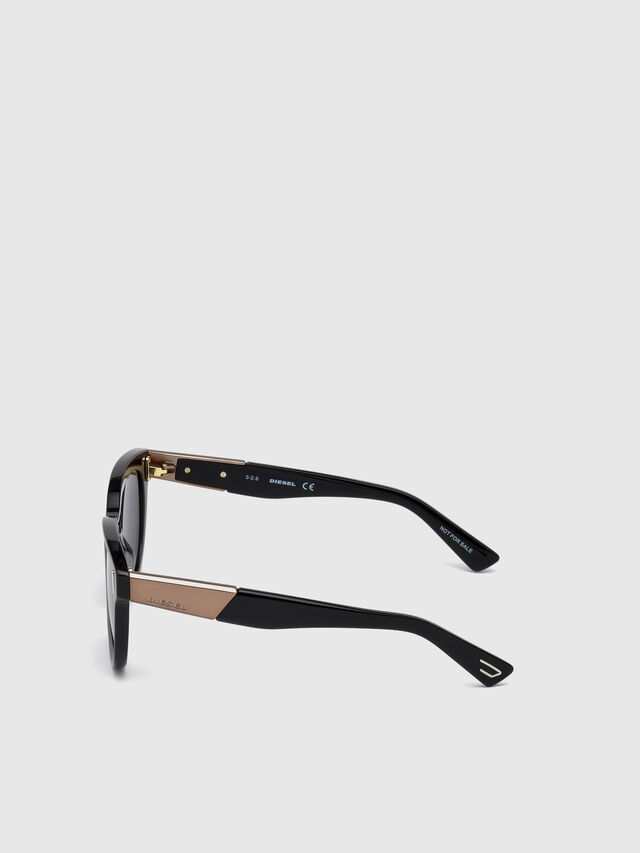 Diesel - DL0228, Black - Sunglasses - Image 3