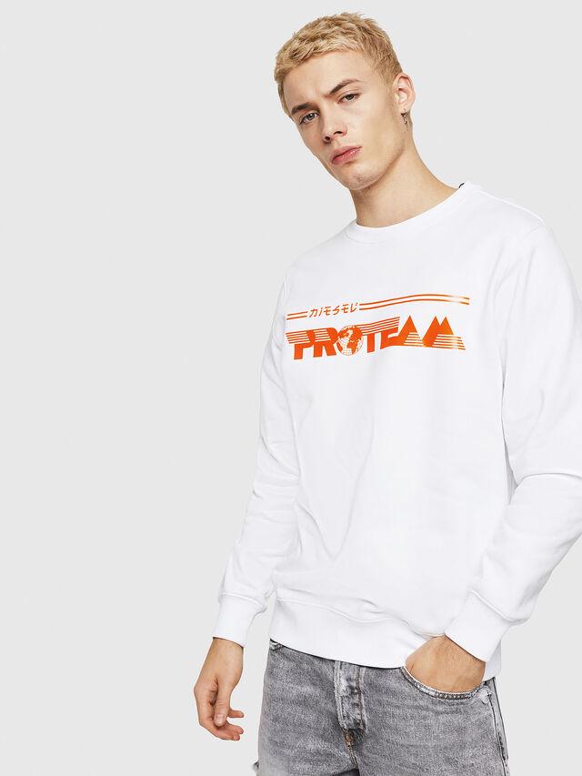 Diesel - S-GIR-Y1, White - Sweaters - Image 1
