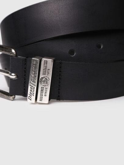 Diesel - B-GUARANTEE, Black - Belts - Image 2