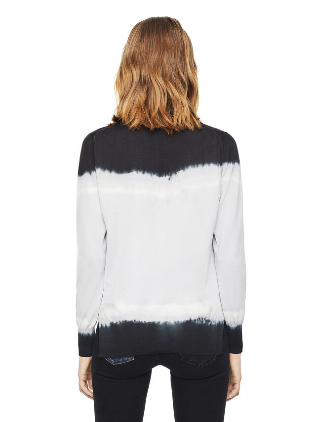 Diesel - MYED, White/Black - Knitwear - Image 2