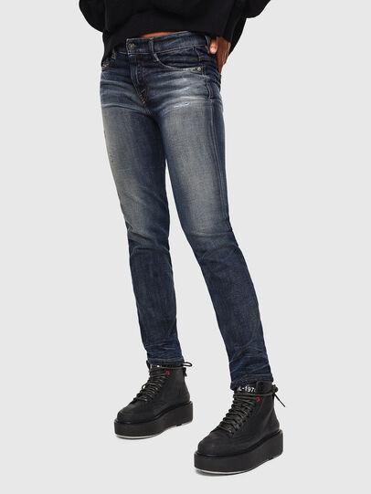 Diesel - D-Rifty 0096U, Dark Blue - Jeans - Image 5