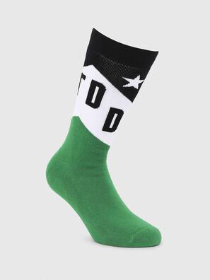 SKM-RAY, Green/Black - Socks