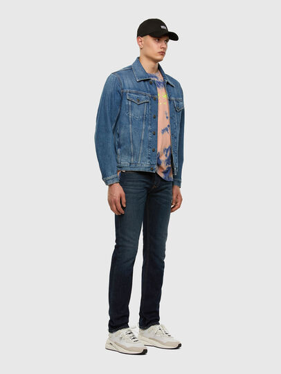 Diesel - Safado 009HN, Dark Blue - Jeans - Image 5