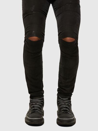 Diesel - D-Strukt JoggJeans 009GH, Black/Dark grey - Jeans - Image 5