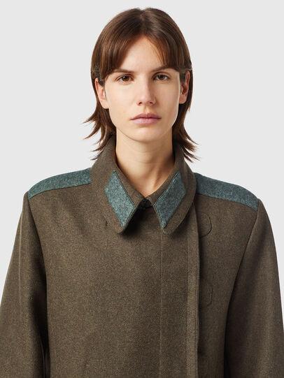 Diesel - W-AGATHE, Olive Green - Winter Jackets - Image 3