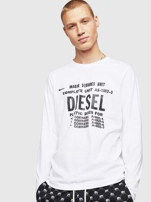 T-DIEGO-B6-LONG, White - T-Shirts